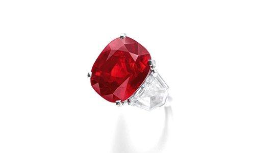 The Sunrise Ruby Viên đá Ruby đắt nhất thế giới