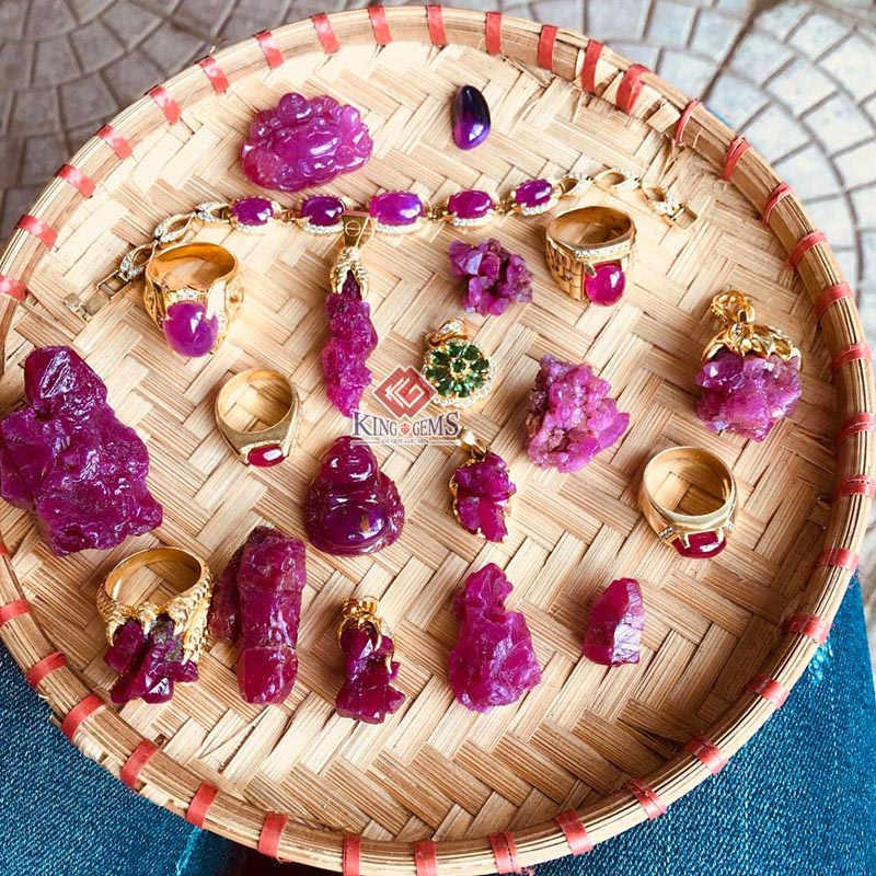 Mẹt đá quý Độc Nhất Vô Nhị chỉ có tại Lục Yên